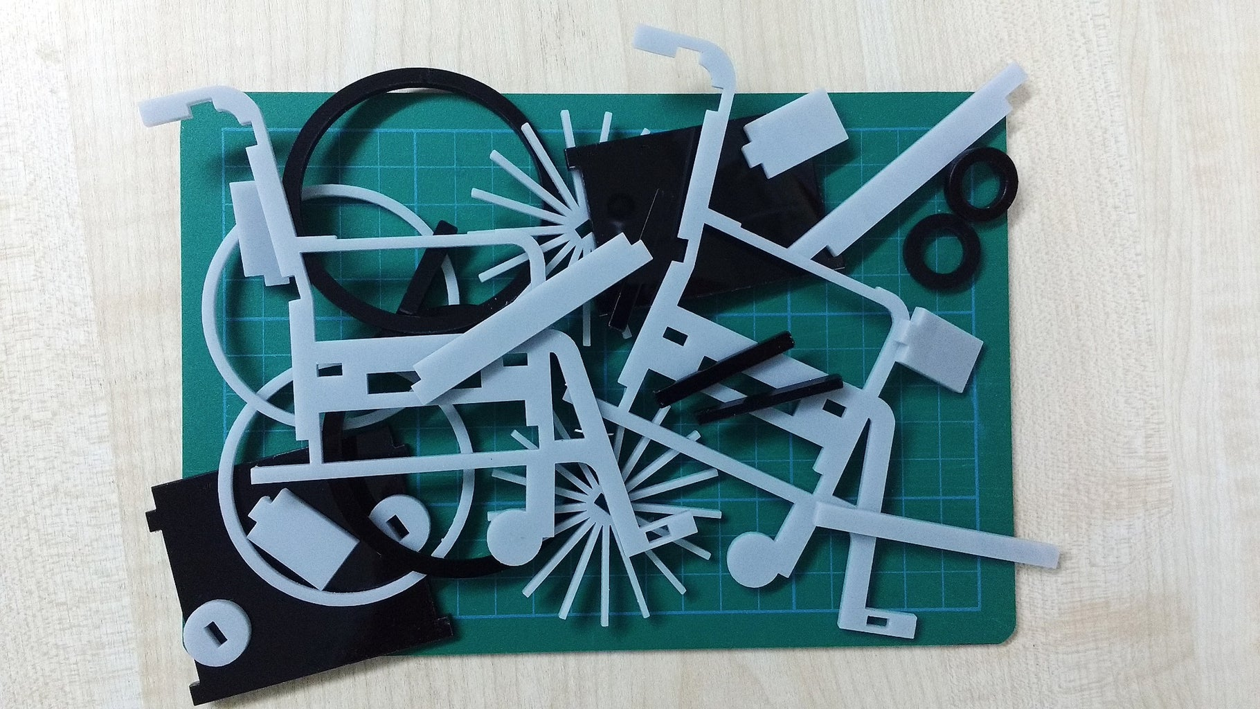 Cutting the Parts: