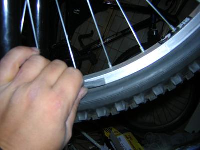 bike rim resurfacing