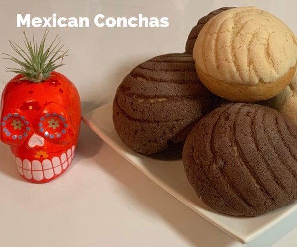 Mexican Conchas
