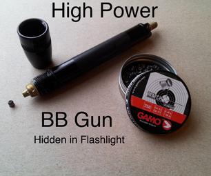 Flashlight Air Gun (Can Break Sound Barrier)