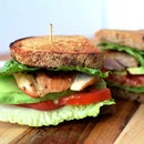 Gourmet Chicken Avocado Lettuce and Tomato (A.L.T.) Sandwich