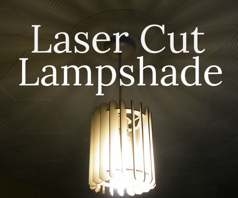 Laser Cut Lampshade