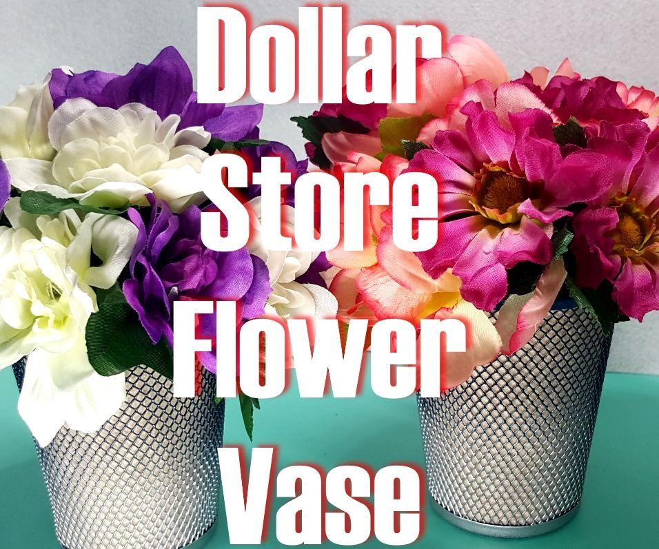 Dollar Store Flower Vase