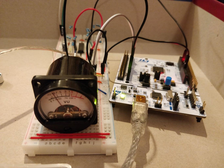 Bluetooth Enabled Analog VU Meter