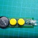 ¡Una luz de flash blanca / ultravioleta de celda de moneda en 30 minutos o menos!