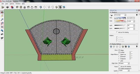 Area Layout, Perimeter Measurement and Area Calculation