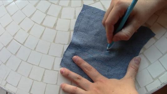 Draw Your Pocket Shape and Sketch Basic Design