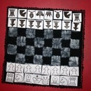 Fabric Chess / Velcro Chess