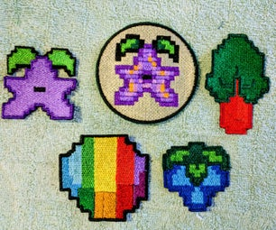 Iron on Pixelated Patches