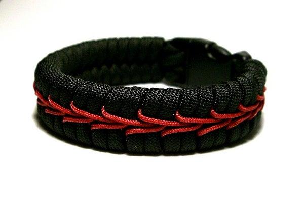 Center Stitched Paracord Bracelet