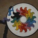 Rainbow Mandala Puzzle