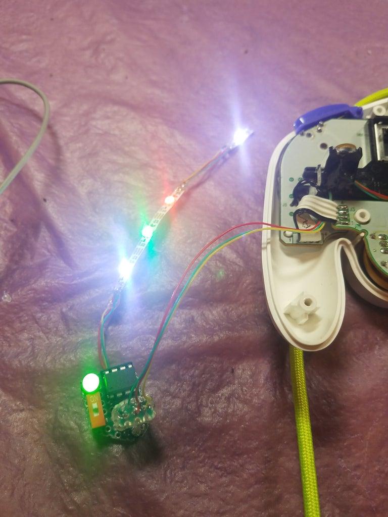 Test LED Chain