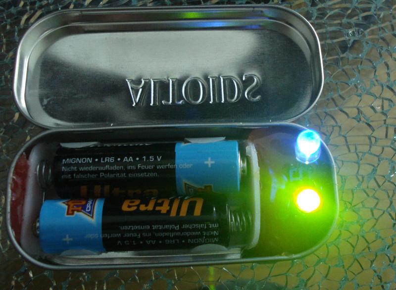 LED Altoids Tester