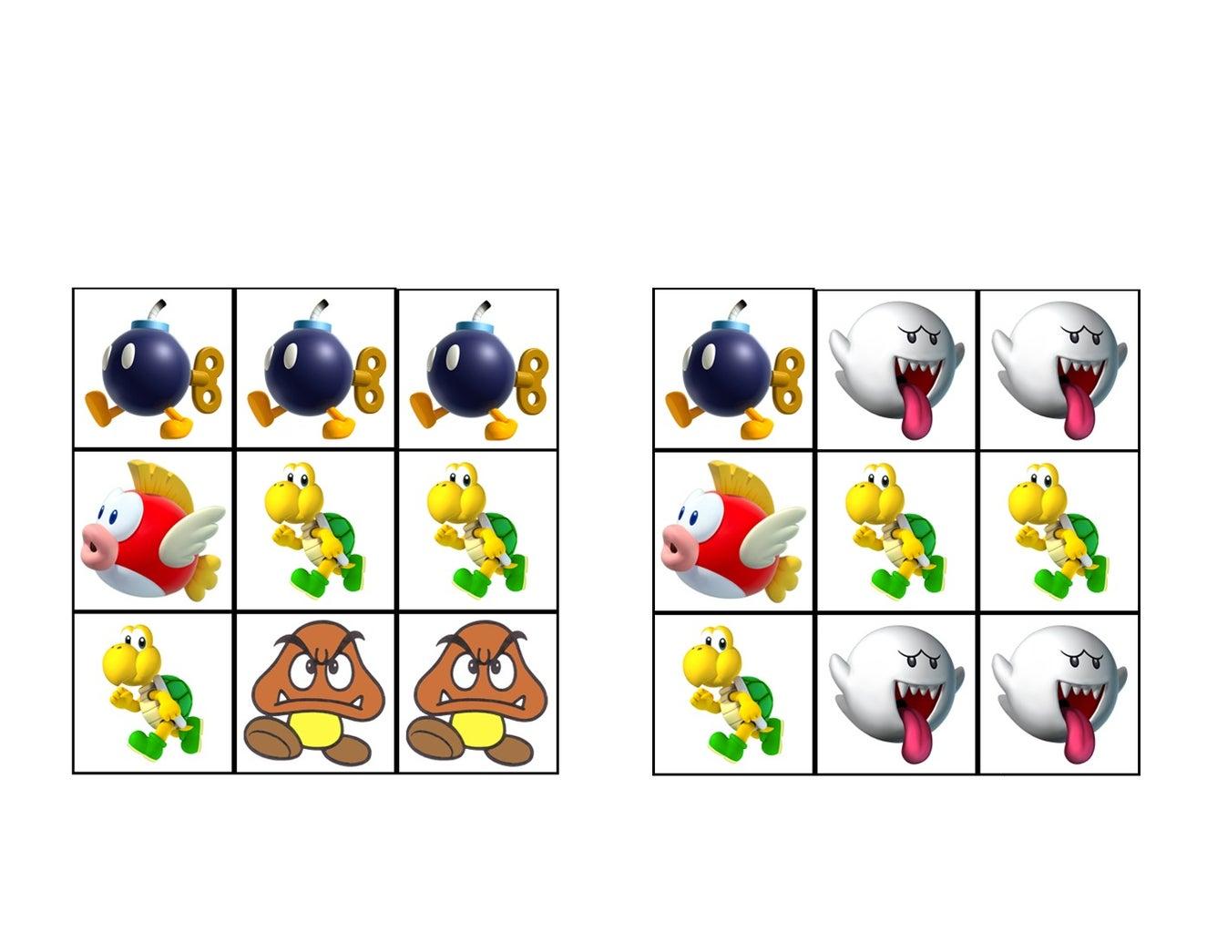 Bowser's Bogus Bingo