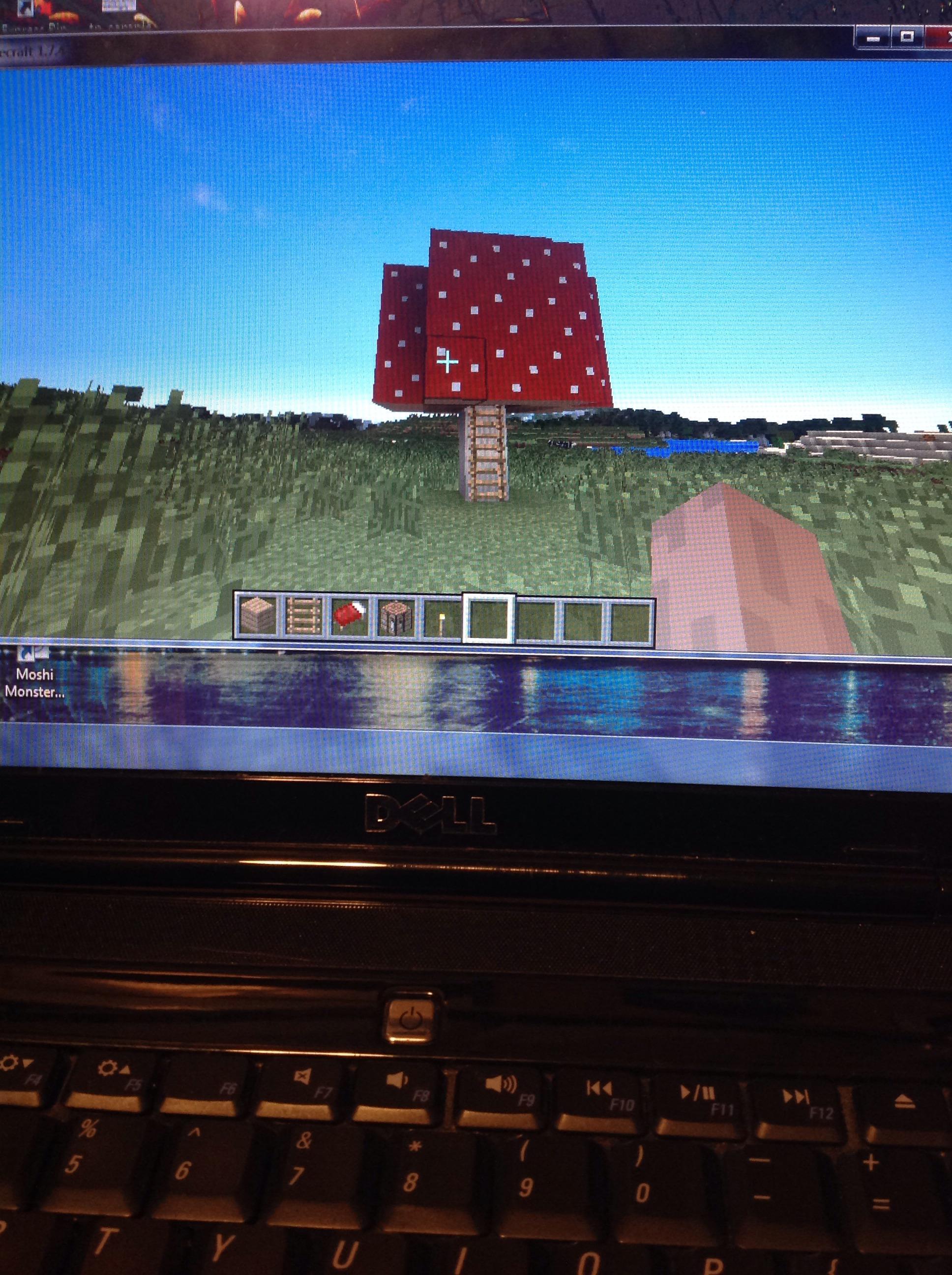 Mushroom House In Minecraft