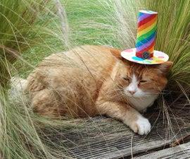 给你的猫做一顶快乐的帽子
