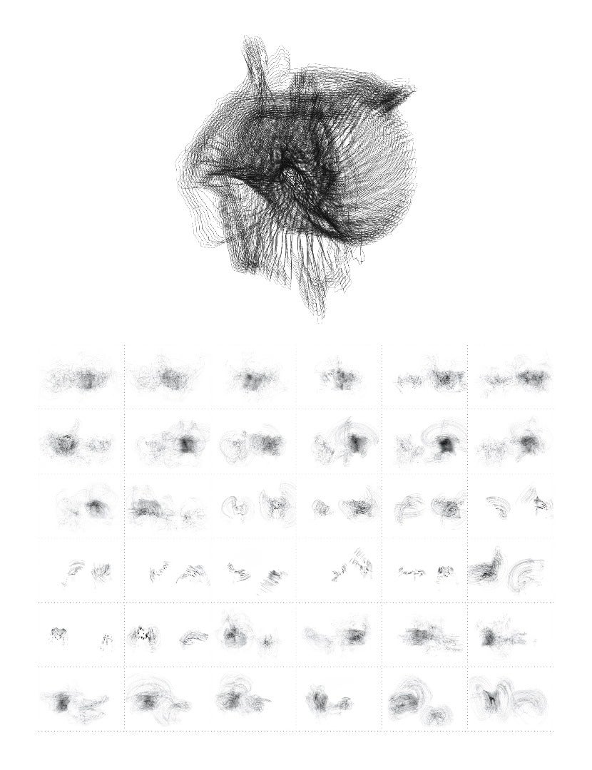 Hand-crafted Parametric Graphic Study