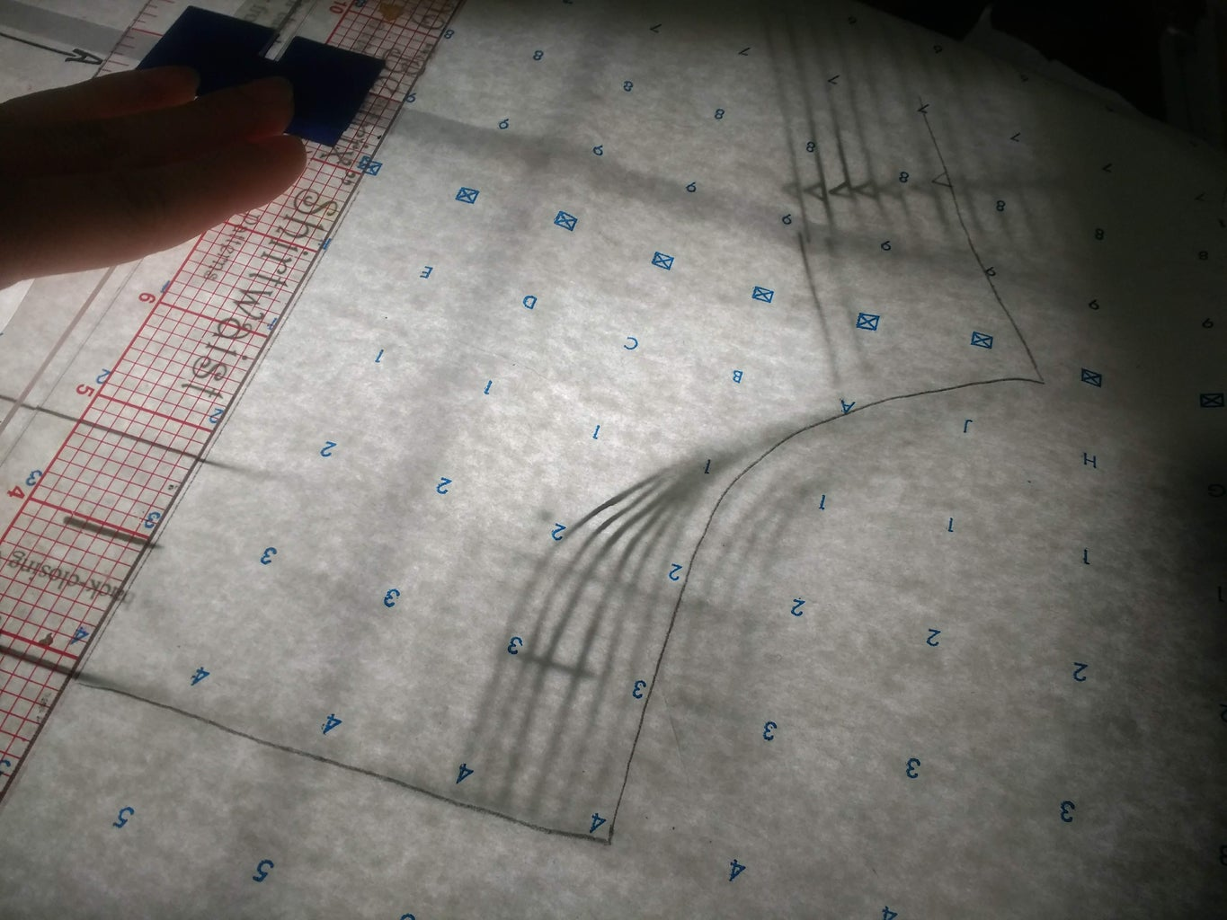 Step 1: Developing a Pattern for Your Crochet Yoke (Pattern Drafting)