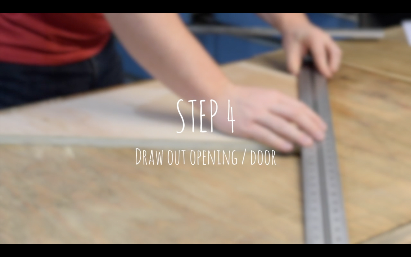 Drawing Out the Opening / Door