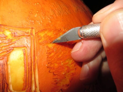 Carving Techniques: Sideways Scraping Using the Fine Blades