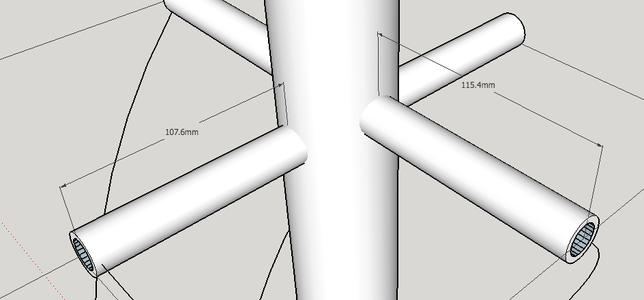 QFH Antenna - Assembling the Supports