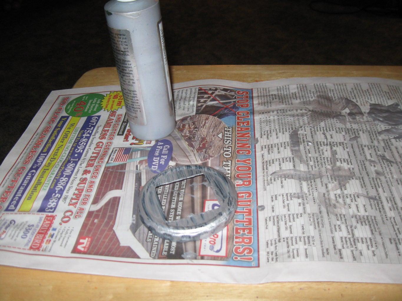 Painting the Jar Lid