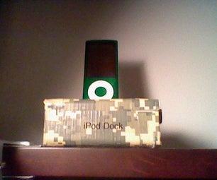 My Homemade IPod Nano (5g) Dock
