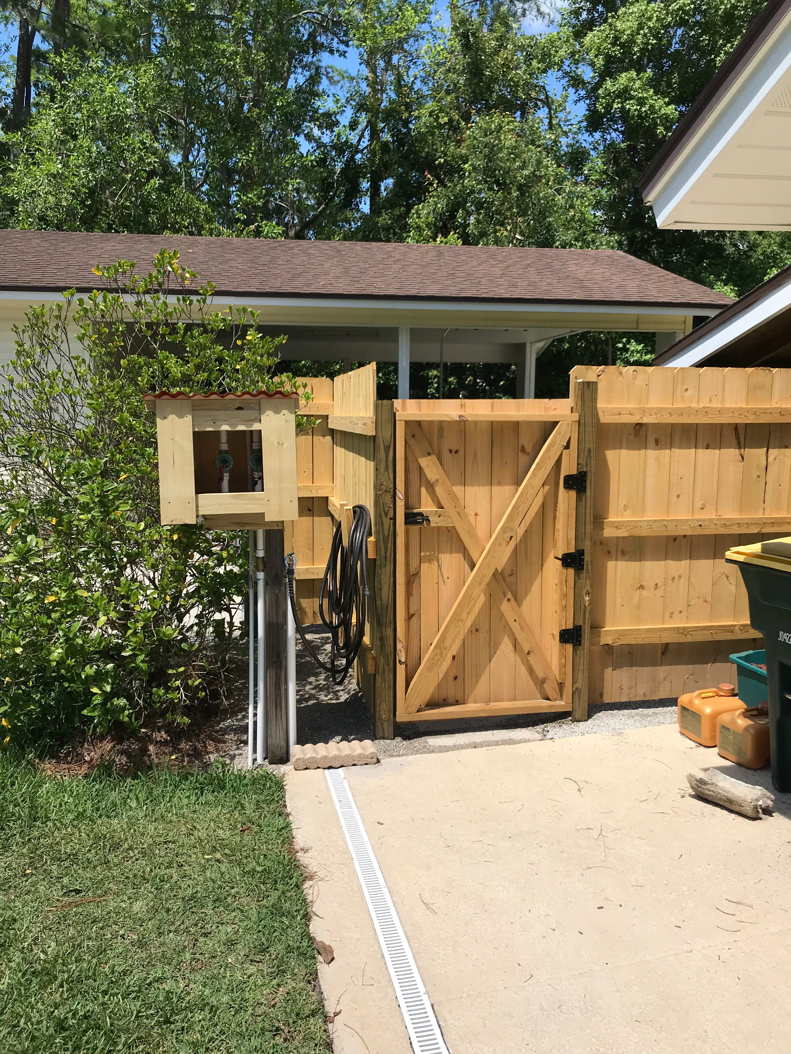 Build a Wooden Fence and Gate