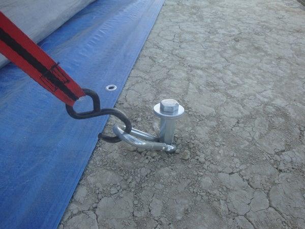 Rebar Tent Stakes