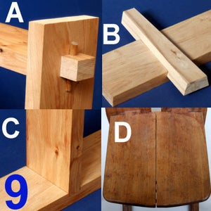 Four Simple Woodworking Joints