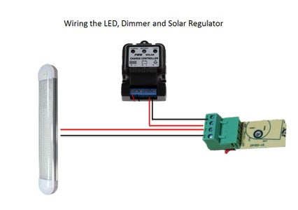 Wiring - Part 4 Dimmer and LED Light