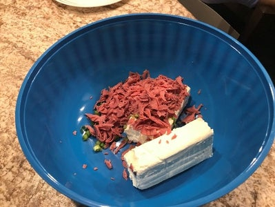Cut All Beef Into ¼ to ½ Inch Sections Into Bowl