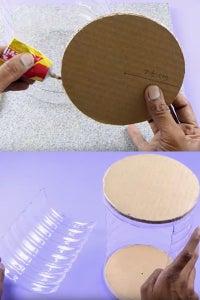 Let's Stick the Cardboard!