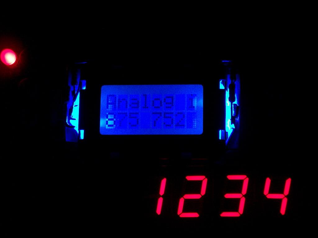 DIY LCD backlight