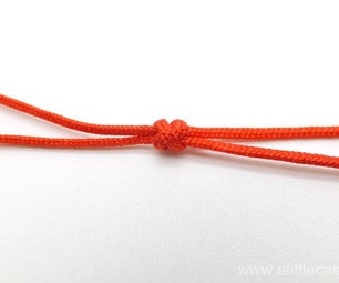 The Basic Decorative Knot for Bracelet Making – Double Connection Knot