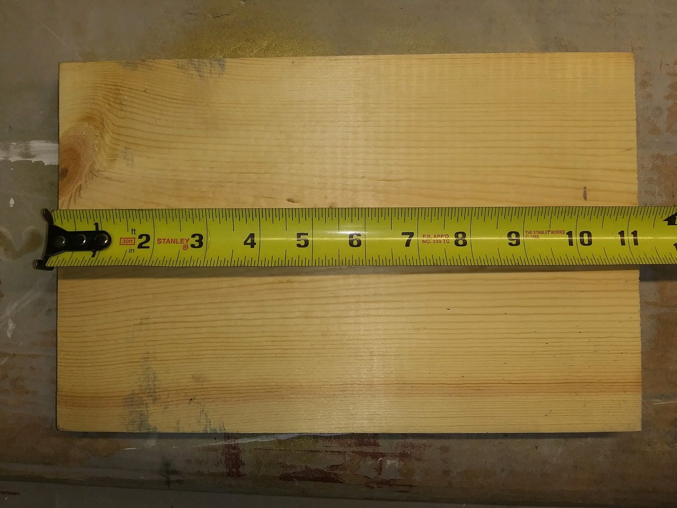 Measuring and Cutting Board