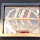 Decorative Leaf Shaped Organizer From a Picture Frame