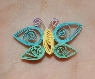 How to Quill a Butterfly