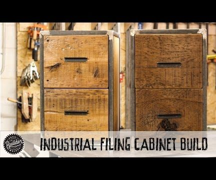 Reclaimed Industrial Filing Cabinet Build