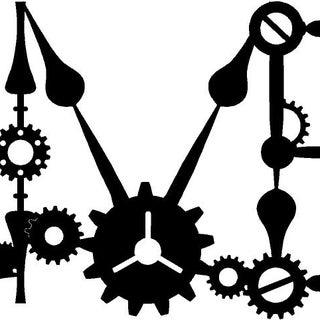 Making RetroTech: a Steampunk / Clock / Gear Font