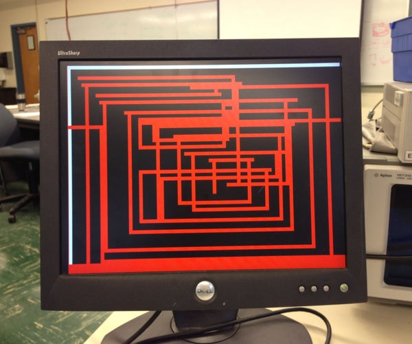 VHDL Etch-a-Sketch