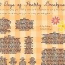 30 DAY BREAKFAST CHALLENGE