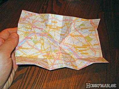 Make a (better) foldable map