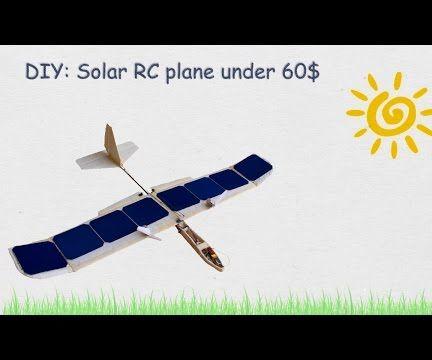 Solar RC Plane Under 60$