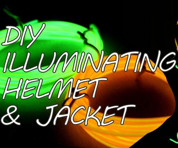 DIY Illuminating Helmet & Jacket
