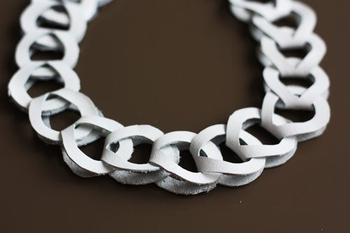 Leather Chain Necklace