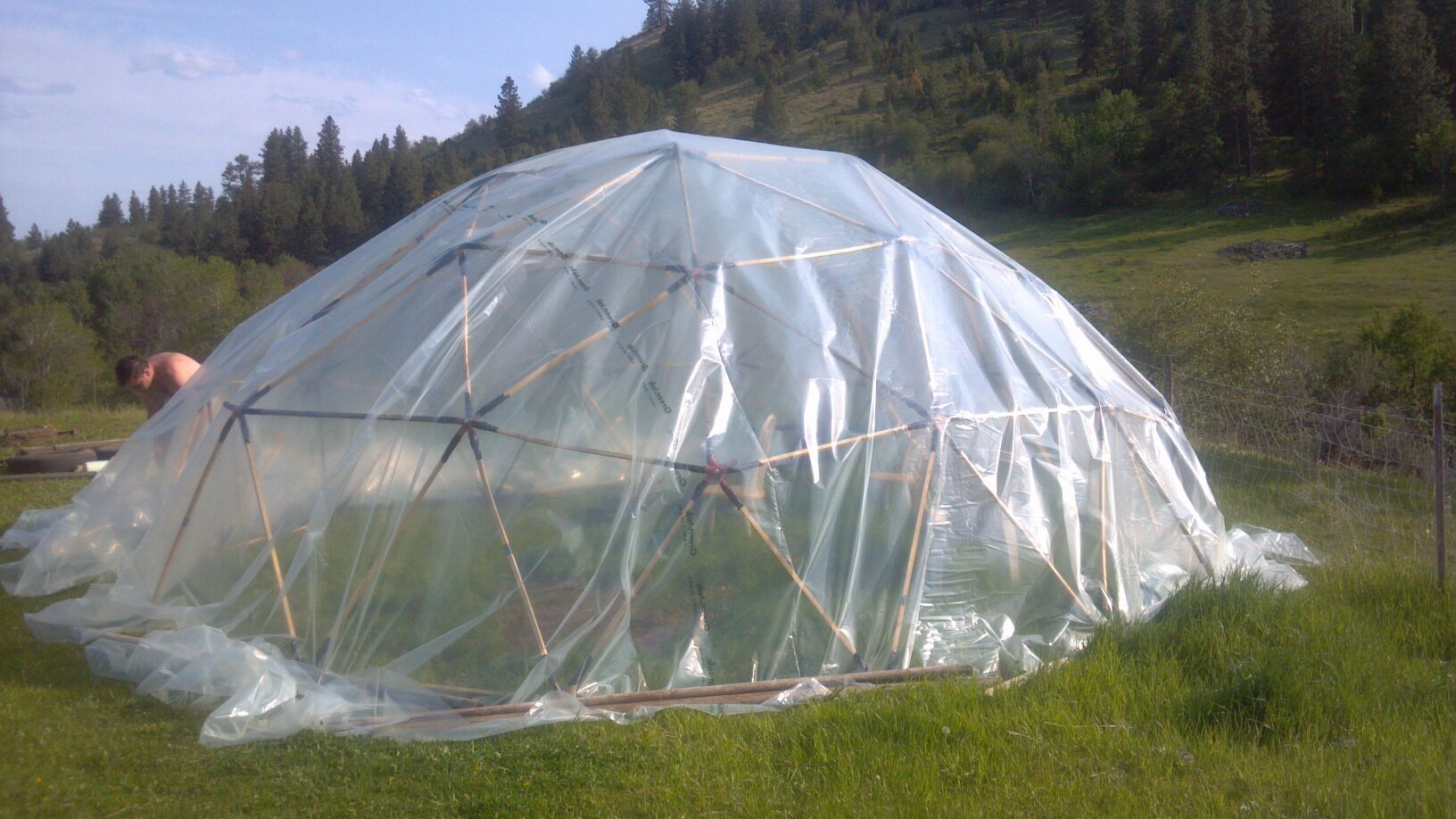 20' Geodesic Dome Greenhouse
