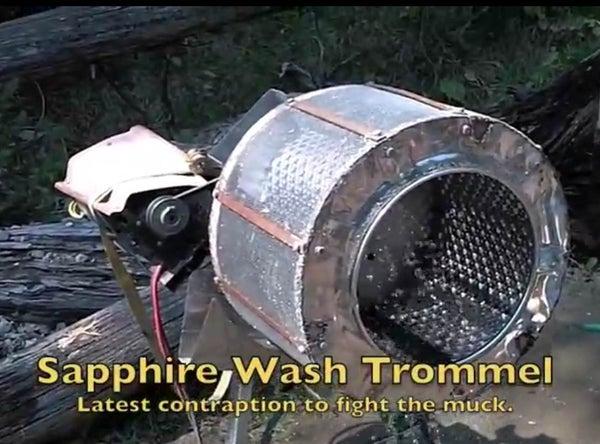 Sapphire Wash Trommel and Gravel Seperator