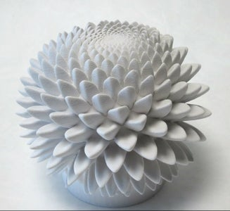 Blooms:  Phi-Based Strobe Animated Sculptures