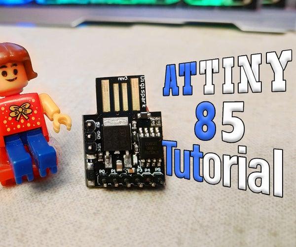 How to Setup DigiSprak Attiny85 Board